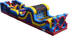 46' Extreme X Inflatable Obstacle Course